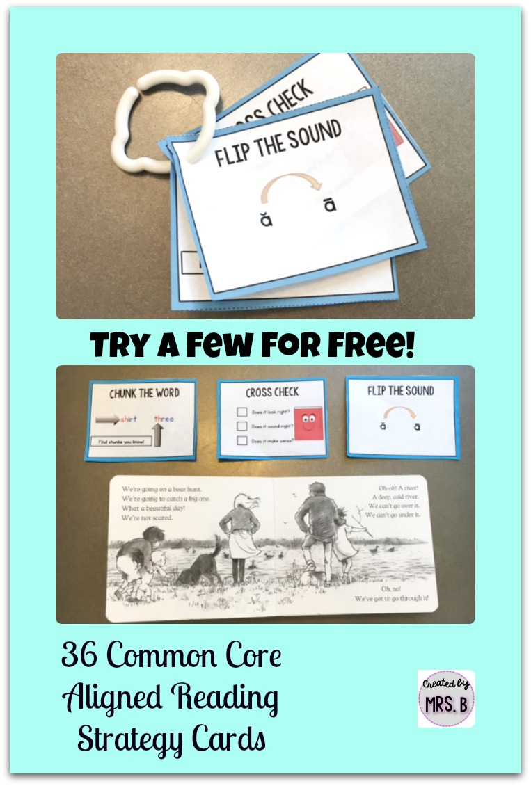 Reading Strategy Cards – Created by Mrs  B